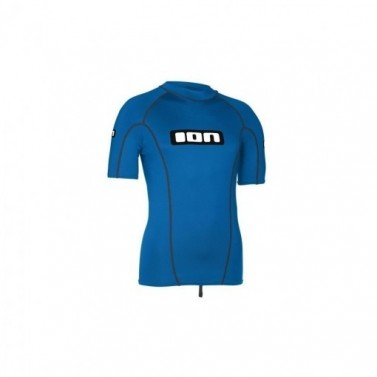 Tričko lycra top ION SS Men Promo - blue