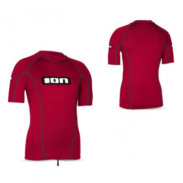 Tričko lycra top ION SS Men Promo - red