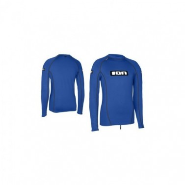 Tričko lycra top ION LS Men Promo - blue