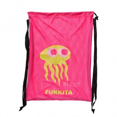 Pytel Funkita Mesh bag - you jelly?