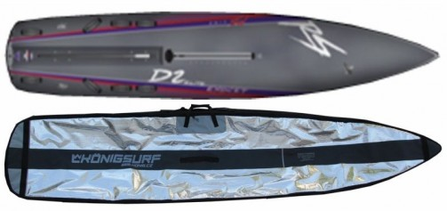 Boardbag na Exocet RS D2 Elite - model RACE