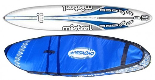 Boardbag na raceboard Mistral One Design - model FREE č.1