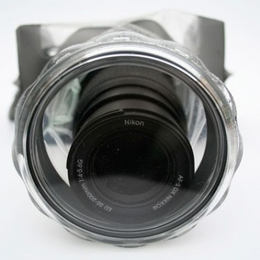 Aquapac 455 SLR camera case with hard lens č.5
