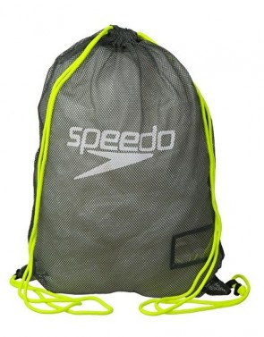 Pytel Speedo Equip mesh bag - grey/yellow