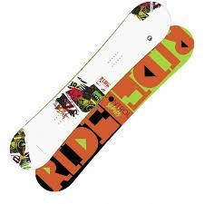 Snowboard Ride Control V2 wide - white